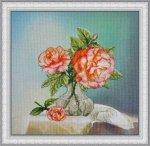 Набір для вишивання хрестиком на канві з надрукованим фоном OlanTa VF-002  Троянди 96f8aa36496c1